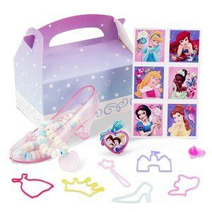 Disney Princess Dreams Party Favor Box Clothing