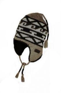 Chaos Hats Mens Kinic Wool Blend Peruvian Earflap Beanie