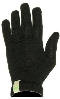 Minus33 Merino Wool 3600 Glove Liner Black Large Clothing
