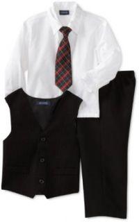 Izod Kids Boys 2 7 Three Piece Vest Set  Striped with