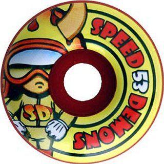 Speed Demon Hot Head Skateboard Wheels (53mm) Sports