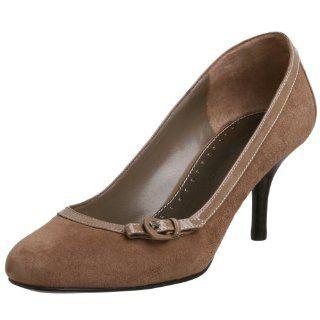 Bandolino Womens Bariah Pump,Taupe Suede,9 M Shoes