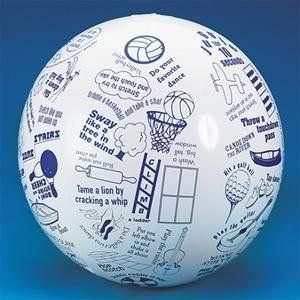 Toss N Talk About Movement Ball: Sports & Outdoors