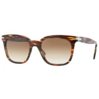 Sunglasses Persol PO2999S 938/51 GREEN STRIPED BROWN