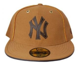 MLB New York Yankees New Era 59Fifty Suede Fitted Hat Cap