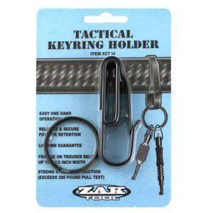 Zak Tools Key Ring Holder, Fit Standard Size Belt Loop Up