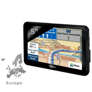GPS autonome ultra fin (13 mm)   Points dintérets PIO  Cartographie