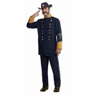 Civil War Union Officer Uniform Plus Size Costume