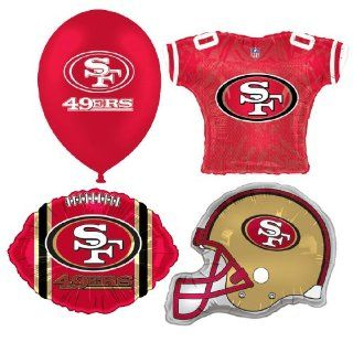 NFL San Francisco 49ers Balloon Party Pack Sports