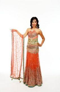 Indian Bridal Wear Lehenga Choli for Wedding Reception