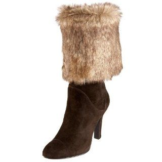 Moda Spana Womens Gracie Boot,Dark Brown Kid Suede,9.5 M US Shoes