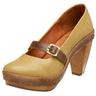 FLY London Womens Cool Pump,Khaki/Camel,37 EU (US Womens 6 M) Shoes