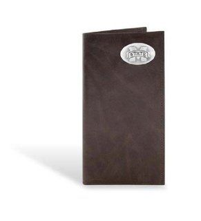 Mississippi State Leather Wrinkle Brown Long Roper Wallet