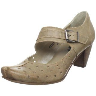 Diagonal Strap Mary Jane,March Tan,36.5 EU (US Womens 6 M) Shoes