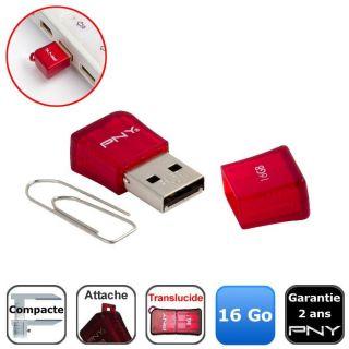 16 Go   Acha / Vene CLE USB PNY Micro Sleek Aaché 16 Go