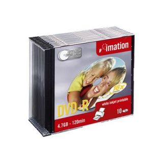 IMATION   Printable   10 x DVD R   4.7 Go 16x   Achat / Vente CD   DVD
