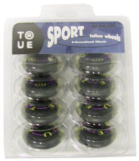 YOUTH INLINE SKATE REPLACEMENT WHEELS True Sport 64mm