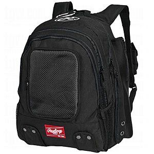 Rawlings Sporting Goods Bomber Backpack, Black Sports