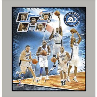Orlando Magic 2009 Team Matted Photo