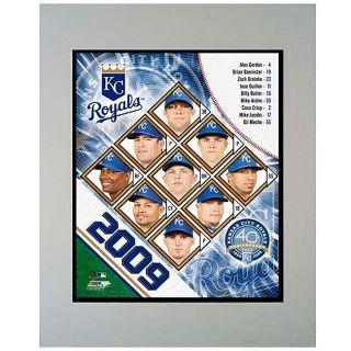2009 Kansas City Royals 11x14 Matted Photo