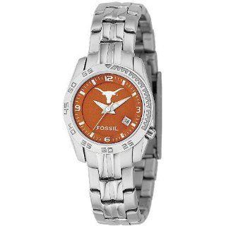 Fossil Sport Collection Longhorns Burnt Orange Dial Women