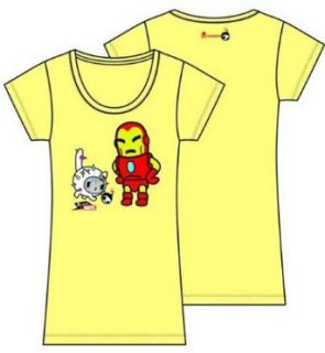 Tokidoki x Marvel Iron Man Playful Yellow T Shirt (WOMEN