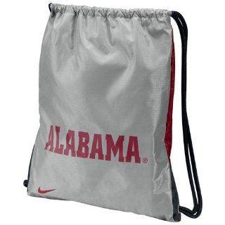 Nike Alabama Crimson Tide Gray Crimson Home & Away Gym Bag