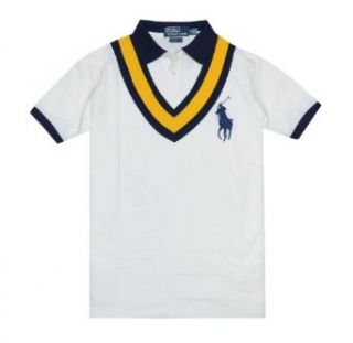 Polo Ralph Lauren Men Custom Fit Fashion Big Logo T shirt