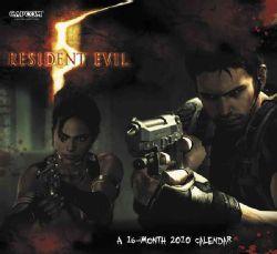 Resident Evil 2010 Calendar