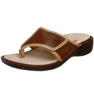Thong Sandal,Latte Brown/Gold Trim,40 EU (US Womens 9 9.5 M) Shoes
