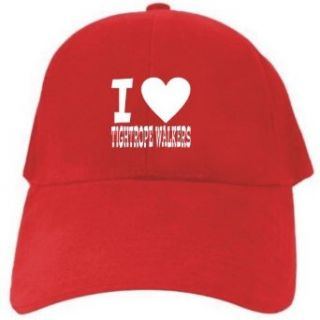 I LOVE Tightrope Walkers Red Baseball Cap Unisex Clothing