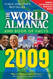 The World Almanac and Book of Facts 2009 (Paperback)