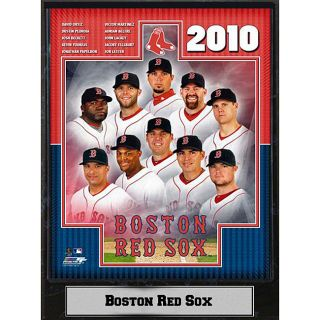 2010 Boston Red Sox Photograph Plaque