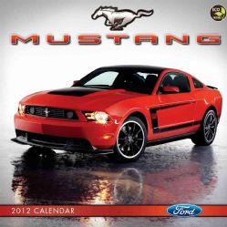 Ford Mustang 2012 Calendar (Calendar)