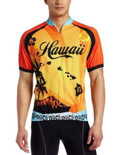 Canari Cyclewear Mens Hawaii 2 Short Sleeve Cycling
