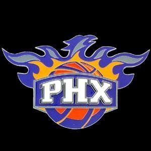 Large Logo Only NBA Trailer Hitch Cover   Phoenix Suns