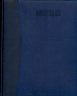 Capri Blue/Blue Executive Desk Diary 2013 (Paperback)