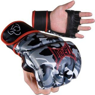 Tapout Cage Style MMA Grappling Gloves: Sports & Outdoors