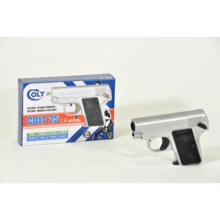 Pistolet à billes Colt 25 Chromé Hop Up   Achat / Vente IMITATION