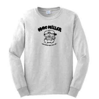 Mac Miller Knock Knock Rap T SHIRT HIP HOP Long Sleeve Tee