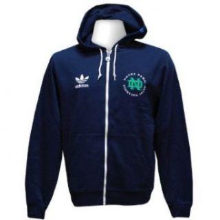 Notre Dame Fighting Irish Adidas Legacy Full Zip Hooded