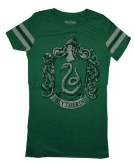 Harry Potter Hogwarts Slytherin Athletic Juniors Babydoll