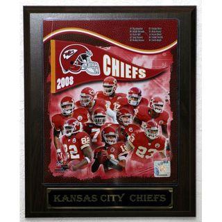 2008 Kansas City Chiefs Picture Plaque