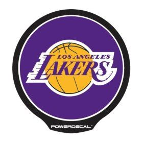 Los Angeles Lakers Die Cut Decal Power Decal Sports