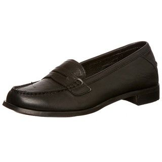 Sebago Womens Cami Penny Black Loafers
