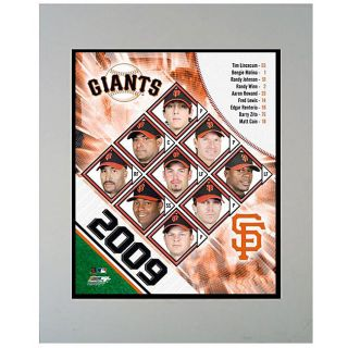 2009 San Francisco Giants 11x14 Matted Photo
