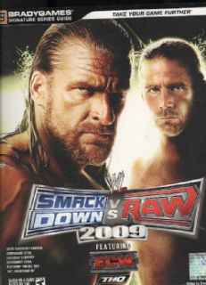Wwe Smackdown Vs. Raw 2009 Signature Series Guide (Paperback