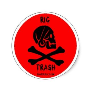 Roughneck, Oil Field Sticker,Offshore Oil Rig,Gas