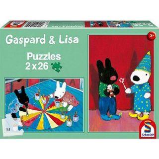 26 pièces   Gaspard et Lisa   Achat / Vente PUZZLE Puzzle 2 x 26