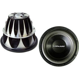 Konaki 12 inch 1600 watt Dual Double Basket Woofer